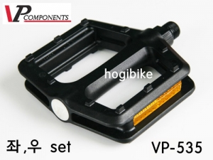 브이피 VP535 Black 플랫폼 페달 VP Components pc pedal pair