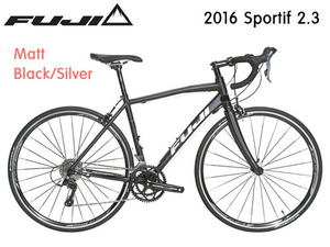 [쿠폰 증정] 2016 후지 스포어티프 2.3 FUJI Sportif 2.3 Claris -Black/Silver-