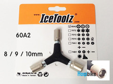 아이스툴즈 60A2 Y형 소켓 렌치 8 / 9 / 10mm IceToolz socket wrench tool